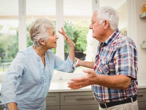 Почему люди могут развестись в пенсионном возрасте?