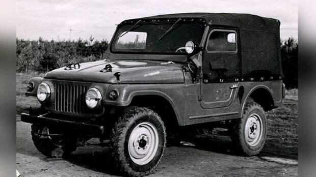 Джип Москвич-415, погубленный производственниками 2