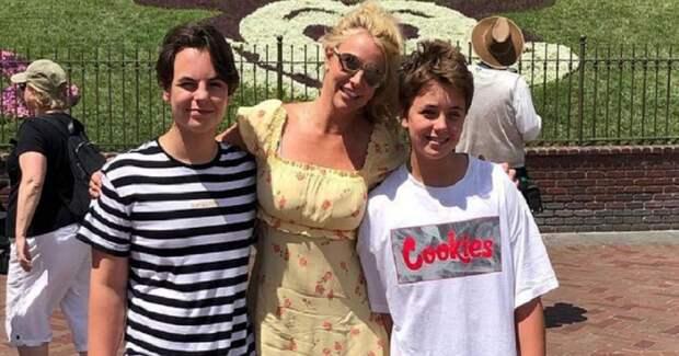 Как выглядят сыновья певицы Бритни Спирс? 5 фото Джейдена и Шона Престона Федерлайнов