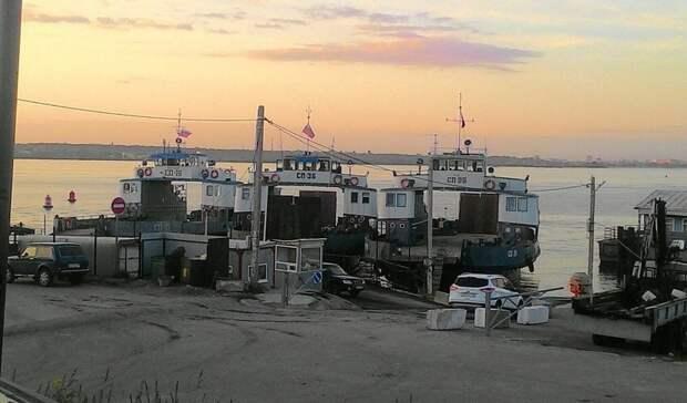 В Татарстане открыли паромную переправу