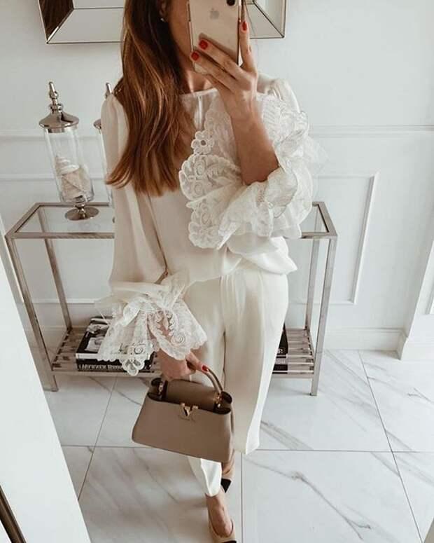 Летние образы в белом цвете, которые вдохновляют
