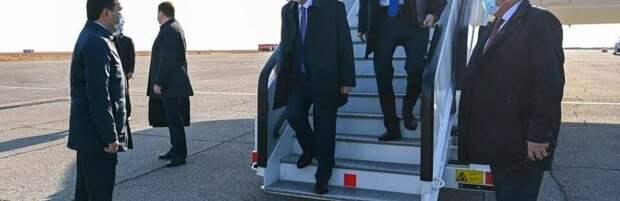 Президент страны прибыл в Карагандинскую область