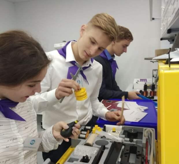 Инженерная лаборатория заработала в школе № 1370 Алтуфьевского района