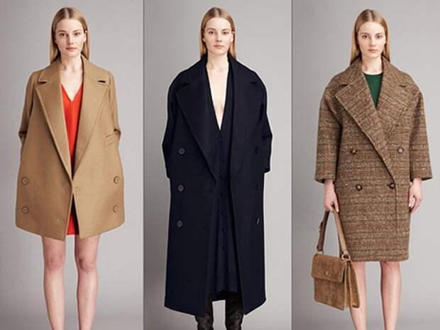 Пальто маскулинного кроя - тренд осени 2017