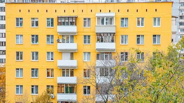 Более 70 фасадов жилых домов капитально отремонтируют на северо‑западе Москвы