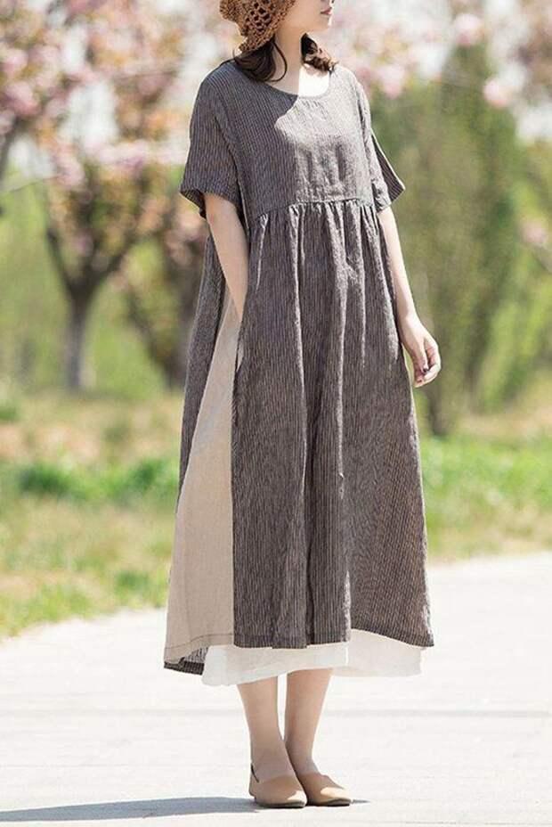 интересное платье на возраст 40 50 лет плюс