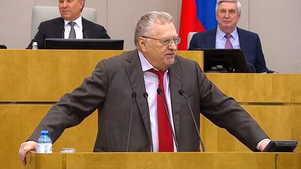 Жириновский уверен, что Запад услышит сигнал Путина о жестком ответе России на провокации