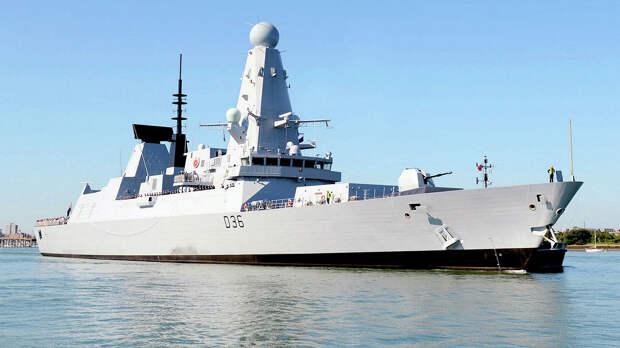 Defender остался единственным действующим эсминцем в британских ВМС