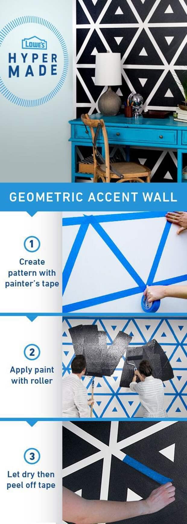 15 простых идей для покраски стен