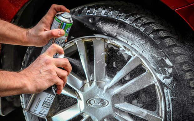 Уход для колес: проверяем средства для дисков и шин