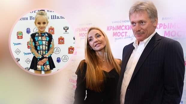 «Мотивация получена, цель видим!» Дочь Пескова и Навки заняла 3-е место на соревнованиях по фигурному катанию