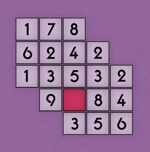 Сможете найти числовую закономерность?