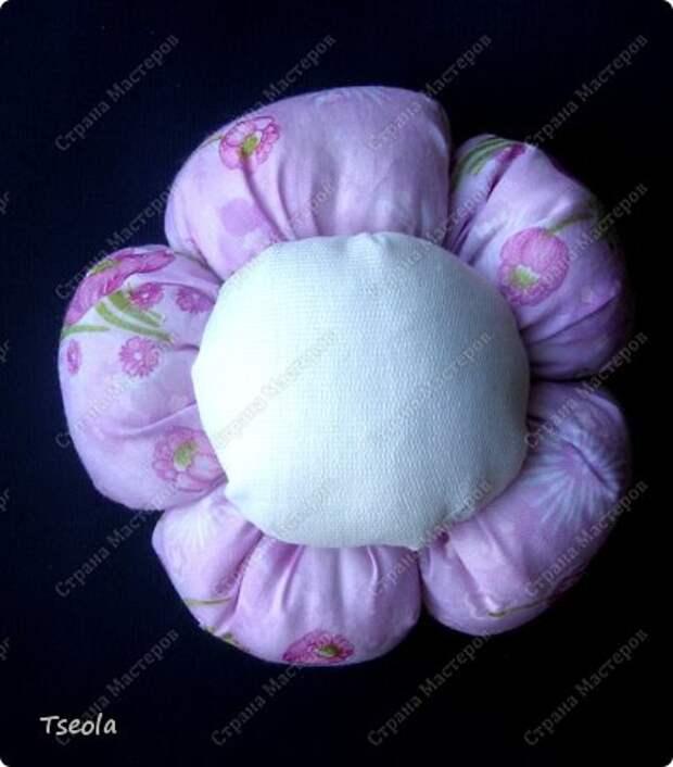 Бонсай топиарий Мастер-класс 8 марта Шитьё Цветок из ткани Гипс Ткань фото 8