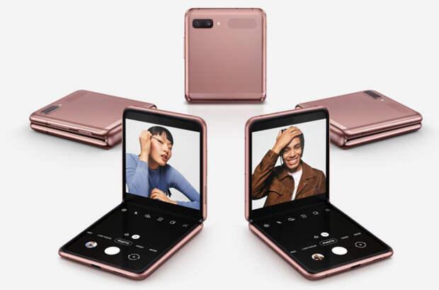 Samsung неожиданно представила складной смартфон Galaxy Z Flip 5G