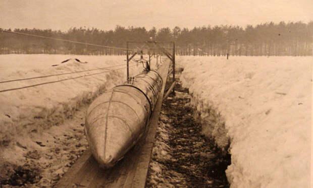 История шаропоезда, созданного в СССР