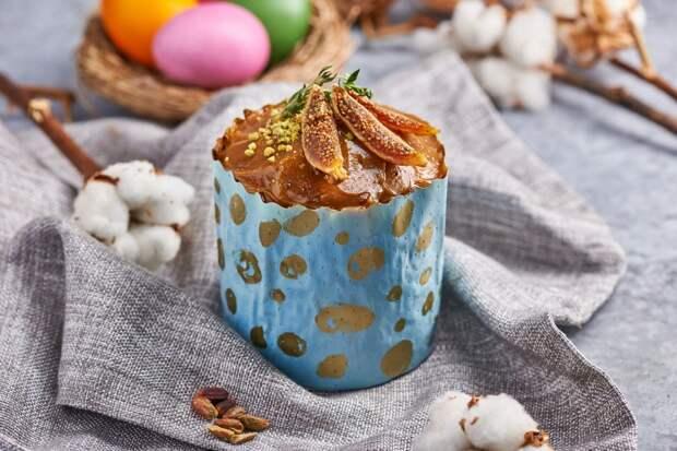 Готовим веганский кулич с кокосовой карамелью