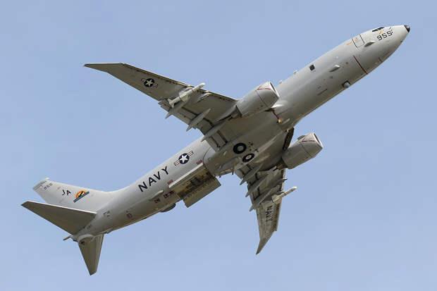Самолёт ВМС США провёл разведку у берегов Крыма