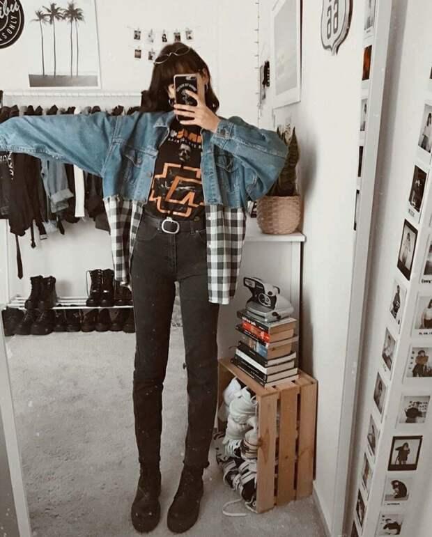 Куртка + рубашка