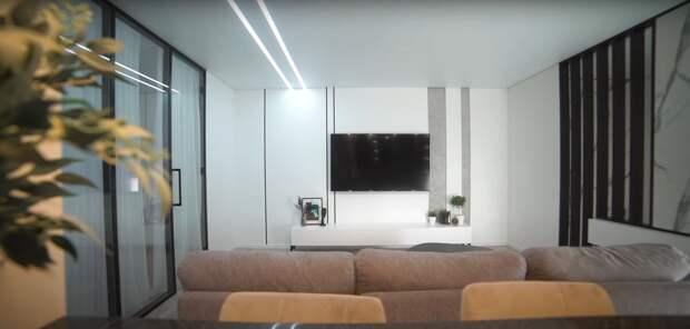 Дизайн интерьера рум тур евротрешка 75 м2