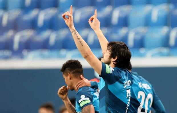 «Зенит» победил «Урал» в товарищеском матче в Дубае
