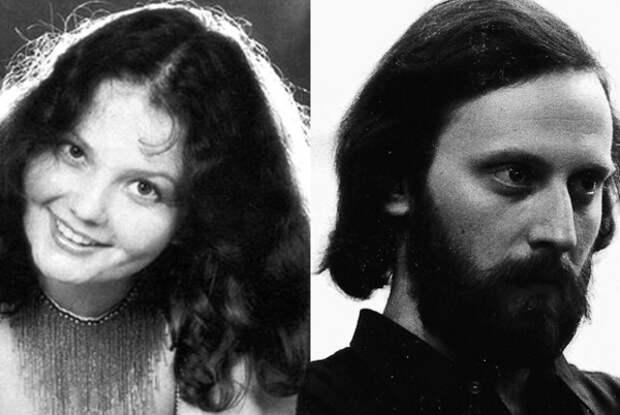 М. Зубарева и её первый муж Борис Кинер