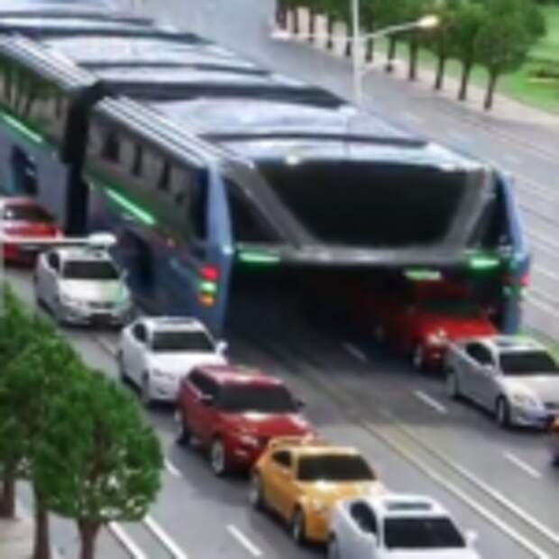 Интересный Китайский автобус