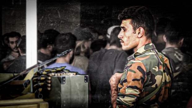Боевики массово сдают оружие в Аль-Шаджаре на западе сирийской провинции Деръа