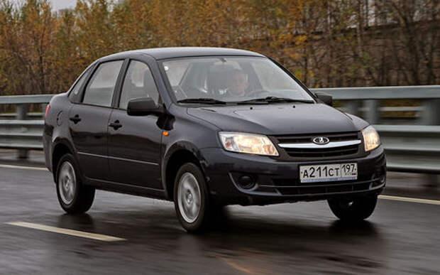 Lada Granta и другие: самые экономичные б/у авто до 500 000 руб.