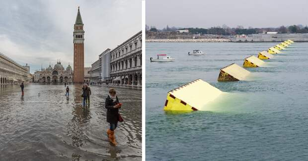Новая технология может спасти Венецию отнаводнений вбудущем