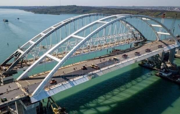 Google знает о некорректном обозначении Крымского моста