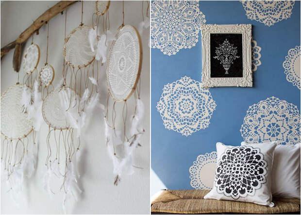 Элегантный декор стен