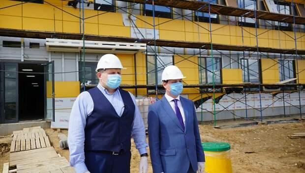 Строительство хлебобулочного завода «Коломенский» завершили на 95% в Подольске