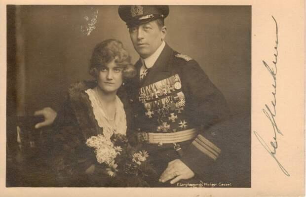 Последний парусный корсар граф фон Люкнер