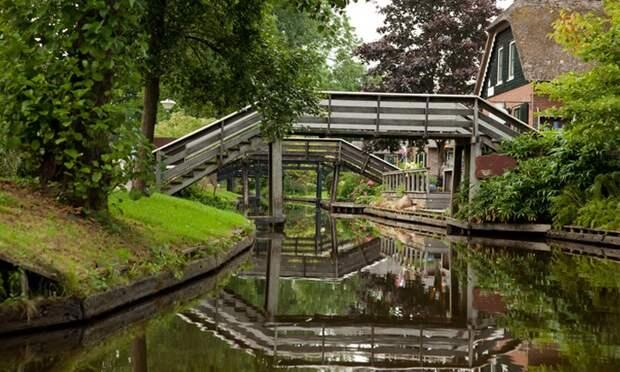 Гитхорн Нидерланды. Самые красивые города мира на воде. Фото с сайта NewPix.ru