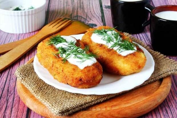 Картофельные котлеты с тыквой. \ Фото: yandex.ua.