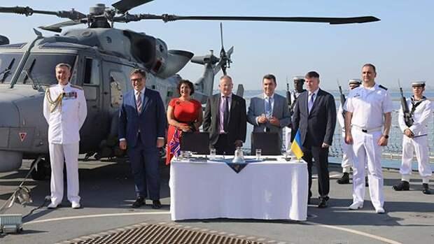 Британия подготовит Украину к морским провокациям против России
