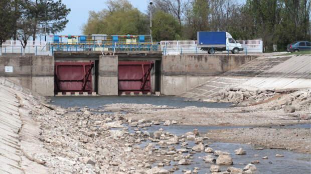О вероятной водной блокаде Донбасса