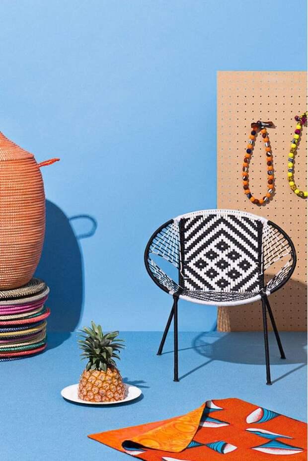 Кресла  Кэролайн Ру из переработанных материалов