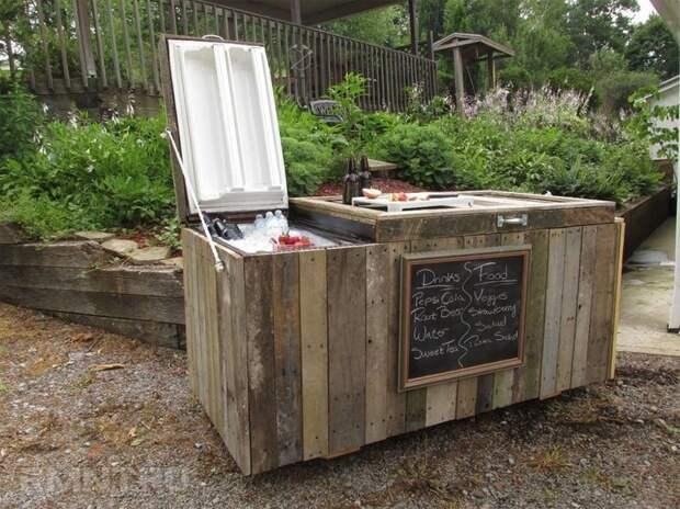 5. Холодильник для вечеринок Фабрика идей, дизайн, интересно, места для хранения, полезно, фото
