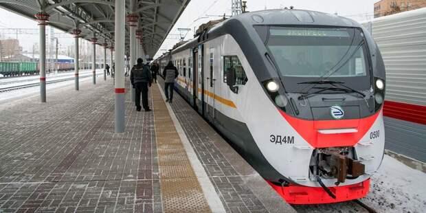 Расписание поездов до «Лосиноостровской» временно изменится