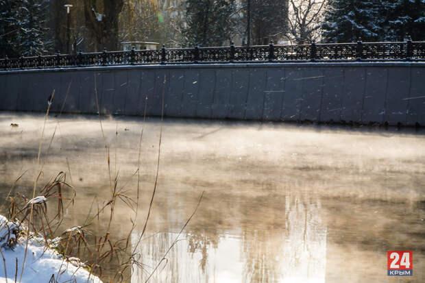 В Симферополе «закипела» река Салгир