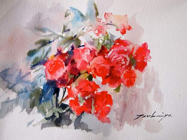 Жизнь - как она есть - прекрасна... Японская художница Tsukiyo Ono