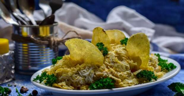Салат «Парус» — вкусно и просто