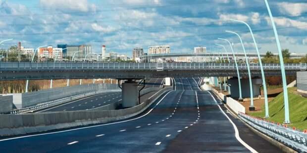 Собянин: В Москве через два года будет сформирован новый транспортный каркас. Фото В. Новикова. Пресс-служба Мэра и Правительства Москвы