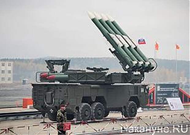 Russia Arms Expo 2013, RAE, зрк бук-м2 Фото: Накануне.RU