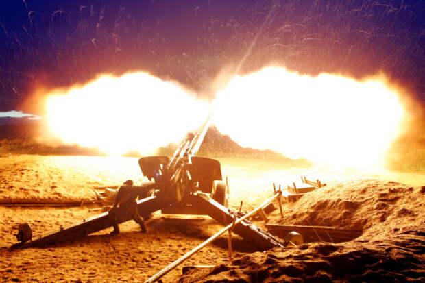 В ВСУ похвастались учениями с ночной стрельбой артиллерии