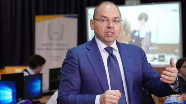 Глава минздрава Украины рассуждает о российской вакцине