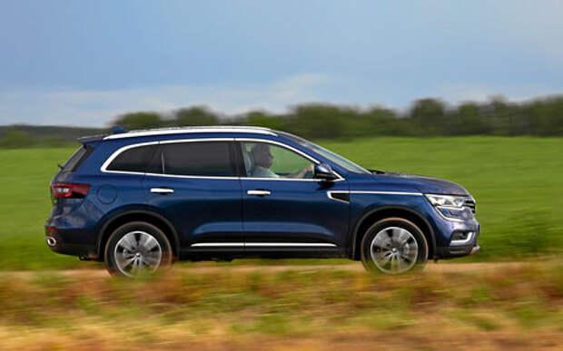 Renault Koleos получил в России турбодизель