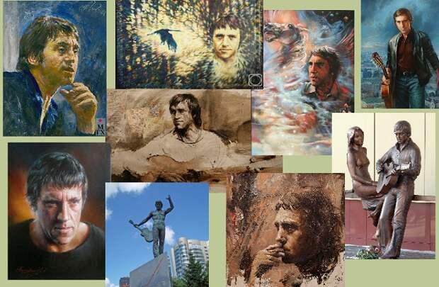 «Я, конечно, вернусь...»: образ Владимира Высоцкого в живописи и скульптуре