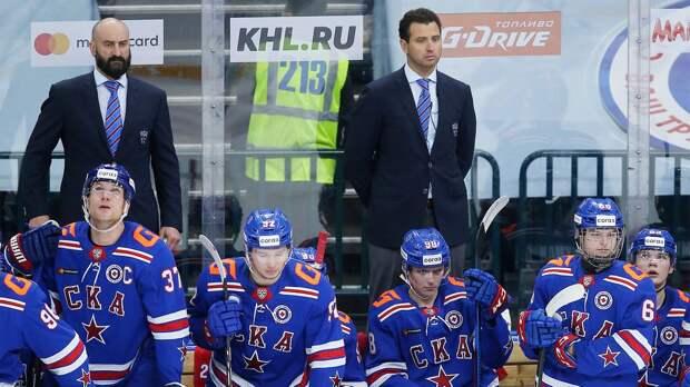 Роман Ротенберг решил стать тренером и сразу проиграл. Но молодежь СКА до последнего сражалась с «Сибирью»